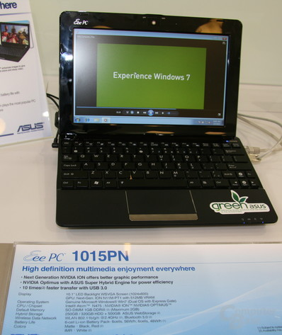 Asus Eee PC 1015PN