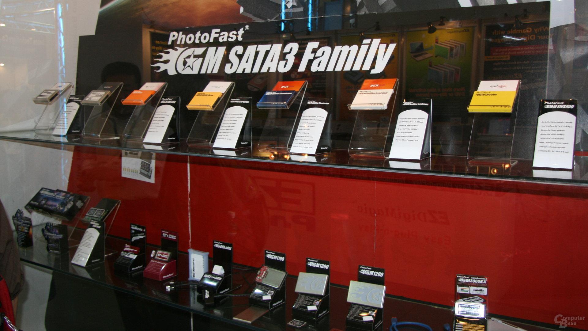 PhotoFast-SSDs für SATA mit 6 GBit/s