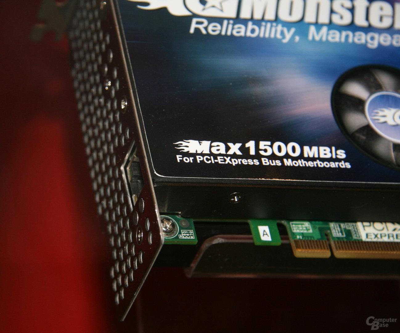 PhotoFast-SSD für PCI-Express-Slot