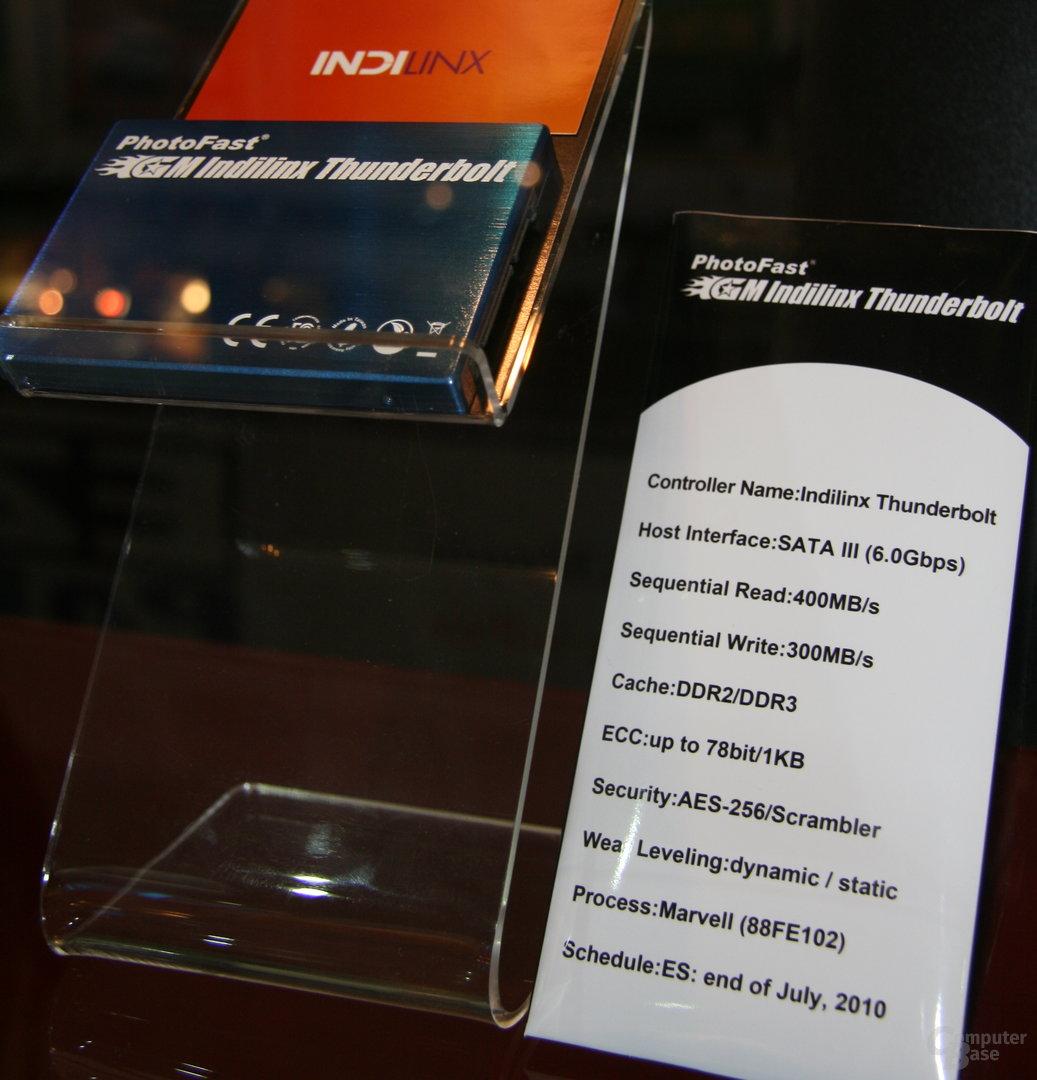 PhotoFast-SSD mit Indilinx-Controller