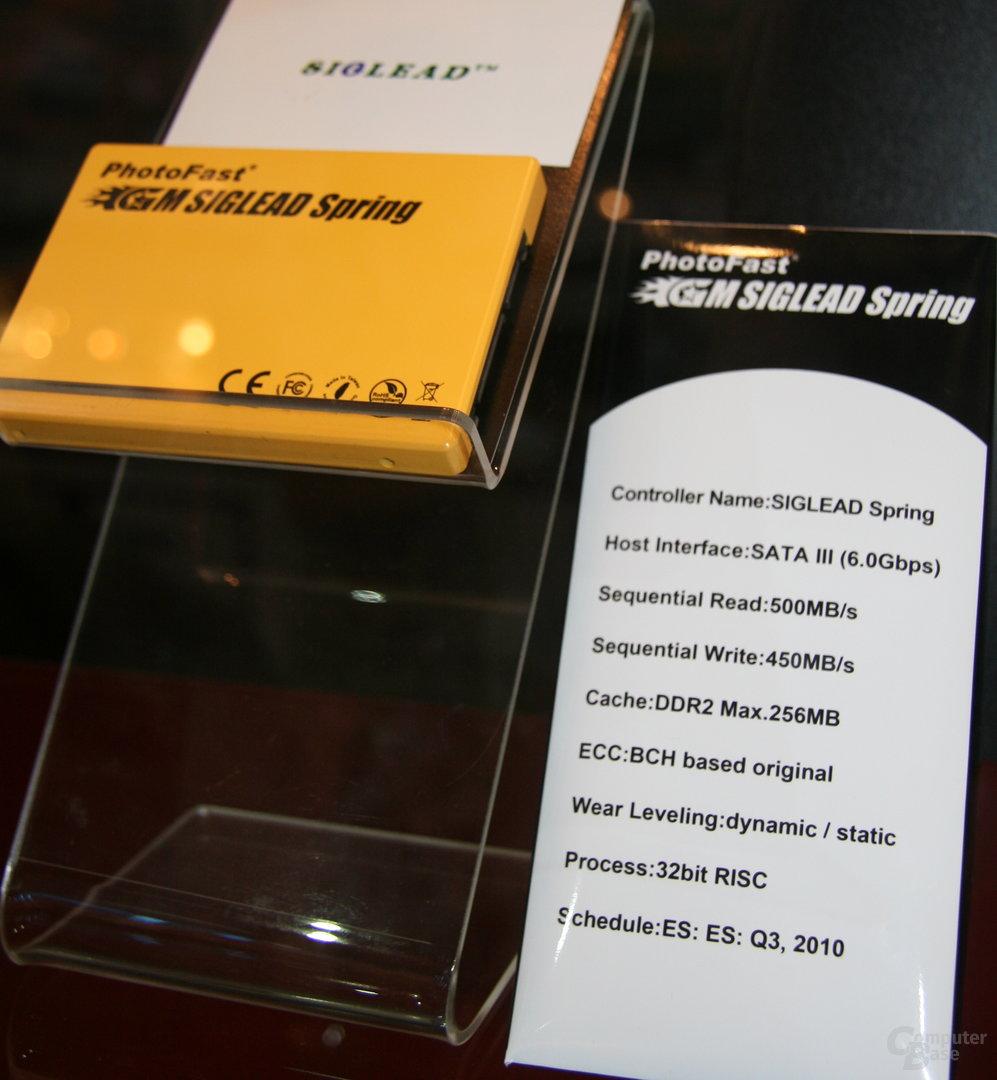 PhotoFast-SSD mit Siglead-Controller