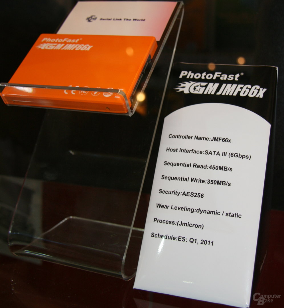 PhotoFast-SSD mit JMicron-Controller