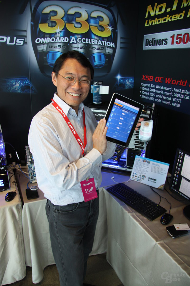 Gigabyte lässt per Internet übertakten
