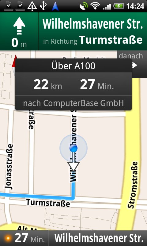 Navigation zur ComputerBase GmbH