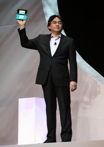 Nintendo President Iwata präsentiert den 3DS