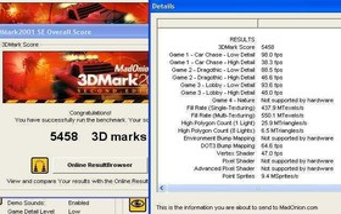 GF4 MX440 auf SiS645-P4 1,8 GHz