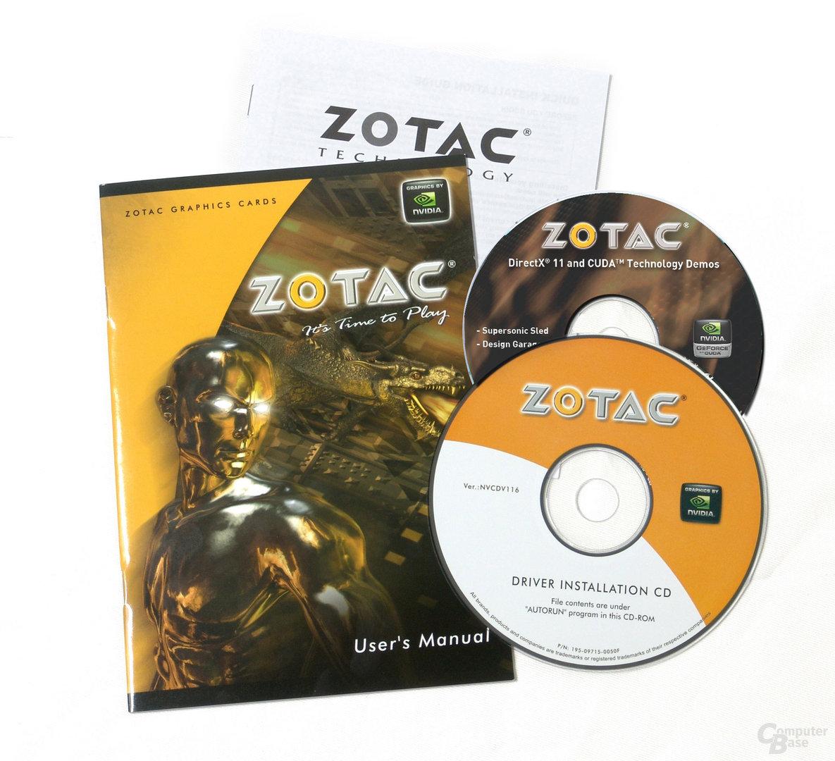 Zotac GeForce GTX 480 AMP! Edition mit Razer DeathAdder