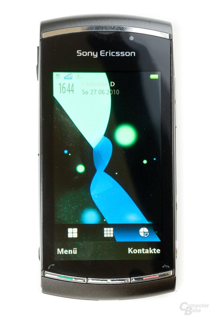 Vivaz Pro: Home-Screen