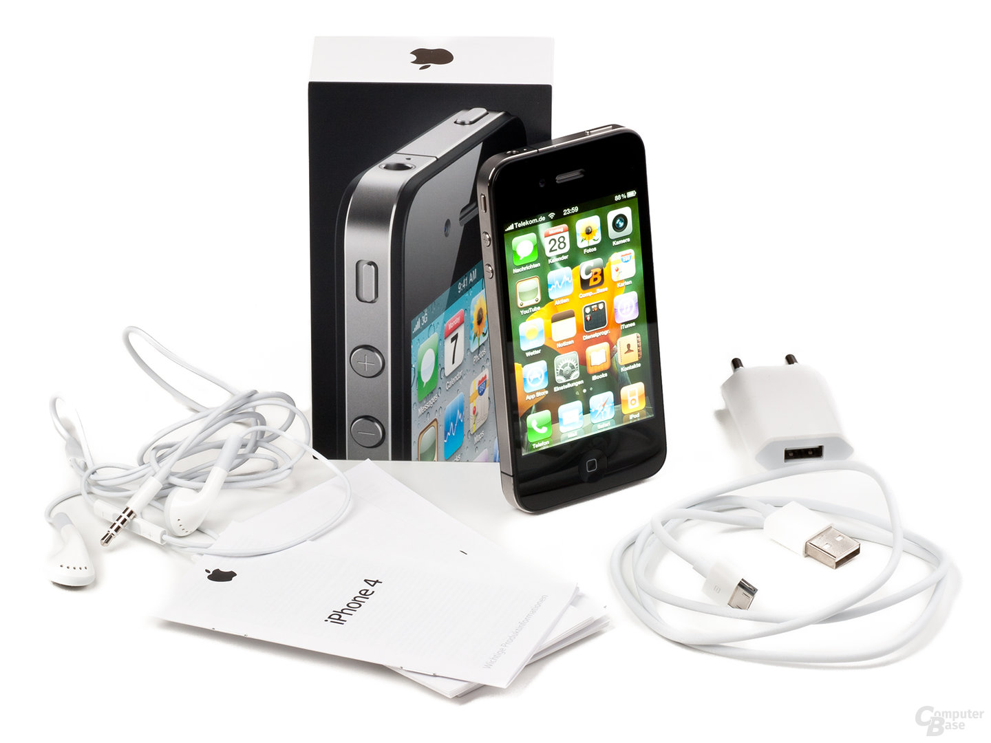 apple iphone 4 im test die evolution der revolution. Black Bedroom Furniture Sets. Home Design Ideas