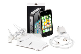 Lieferumfang des iPhone 4