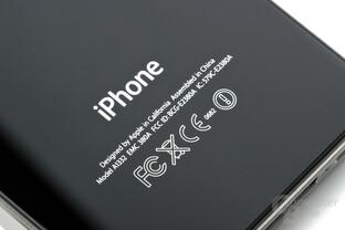 iPhone 4 rückseitiger Schriftzug
