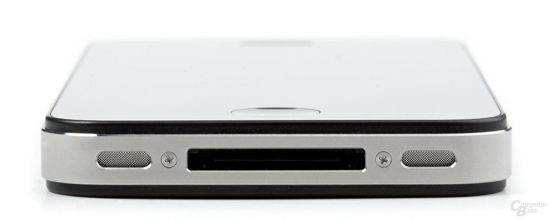 iPhone 4 von unten (zugeschnitten)