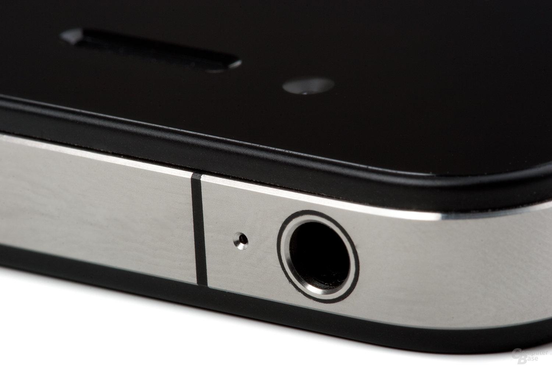 Obere linke Ecke des iPhone 4