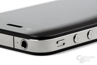 iPhone 4: Audio-Ausgang und Buttons
