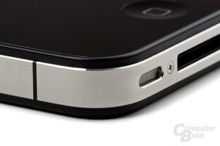 iPhone 4: Mikrofon und Dock-Connector