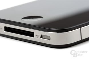 iPhone 4: Lautsprecher und Dock-Connector