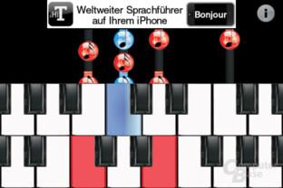 iPhone 4: Klavierspiel-App