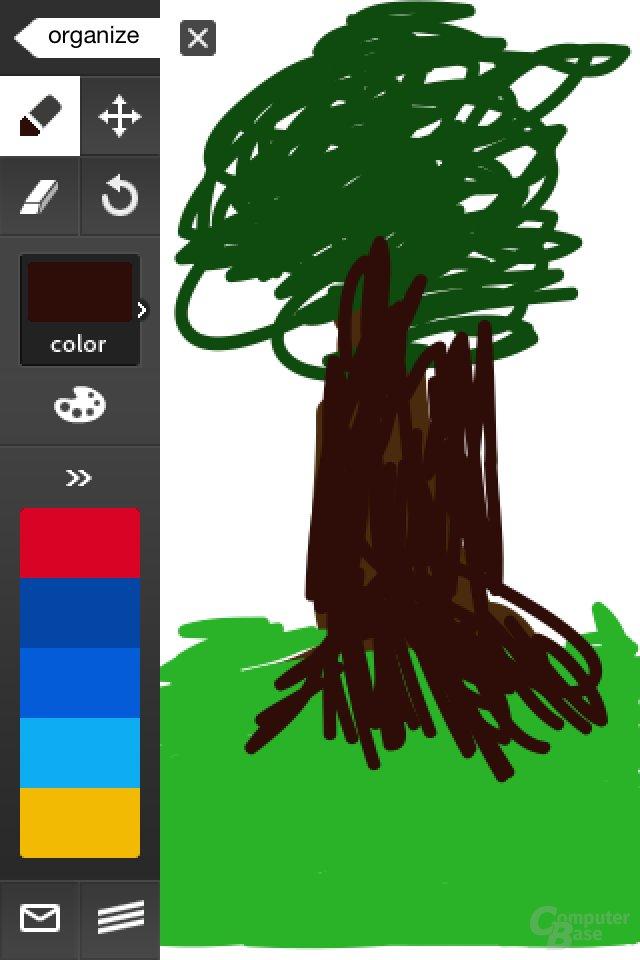 iPhone 4: Zeichnen mit Adobe Ideas