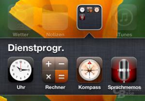 Viel zu spät, aber gut umgesetzt: App-Symbole in Ordnern