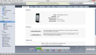 iPhone 4: iTunes-Synchronisierung