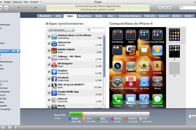 iPhone 4: iTunes