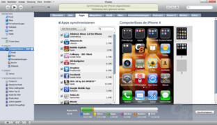 iPhone 4: iTunes