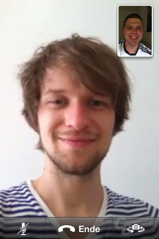 Apple FaceTime (vielen Dank an Tim Peix)