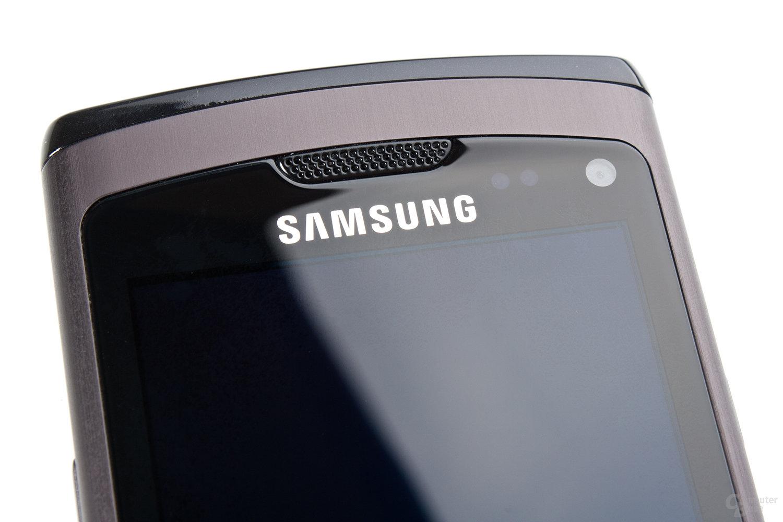Samsung Wave S8500: Das Display des Wave stellt eine kleine Offenbarung dar