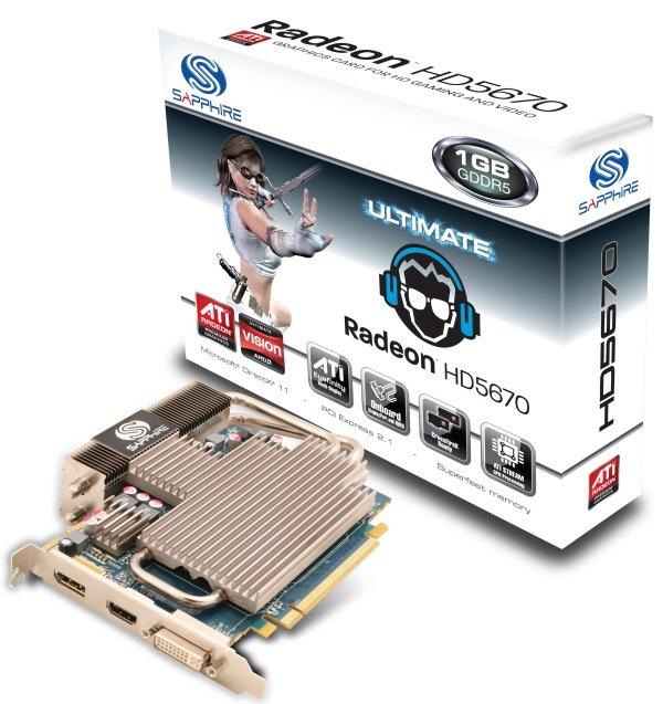Sapphire Radeon HD 5670 Ultimate