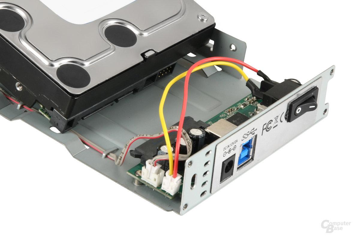 Sharkoon Rapid-Case 3,5 SATA USB 3.0