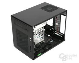 Lian Li PC-Q08 – Innenraum hinten rechts