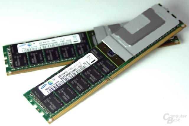 Samsung LRDIMM mit 32 GByte