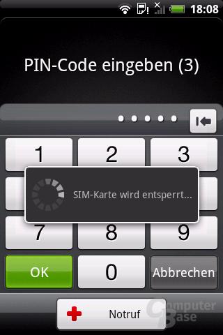 PIN-Eingabe