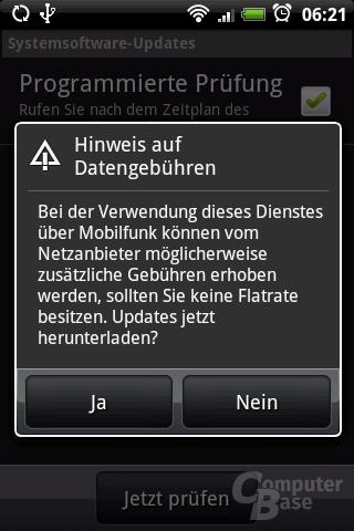 Update-Hinweis