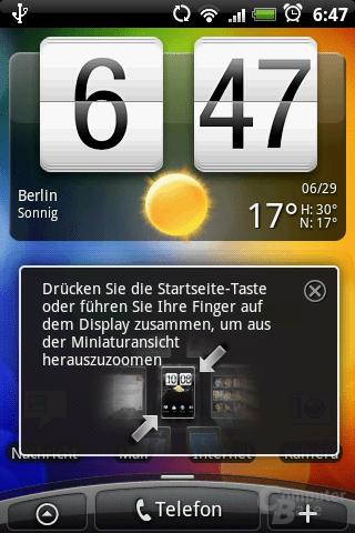 Home-Screen
