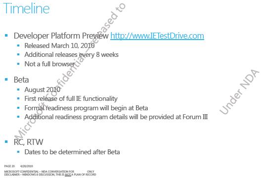 IE9-Beta im August