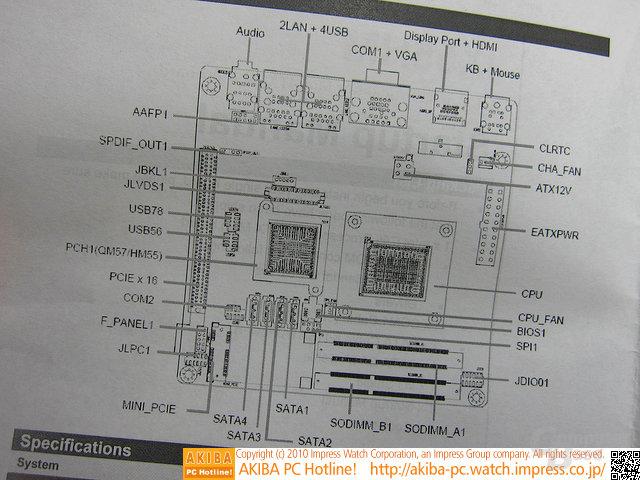 Mini-ITX-Platine mit 18-Watt-CPU