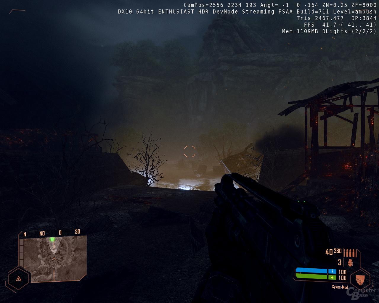 Nvidia GF100 - Crysis Warhead