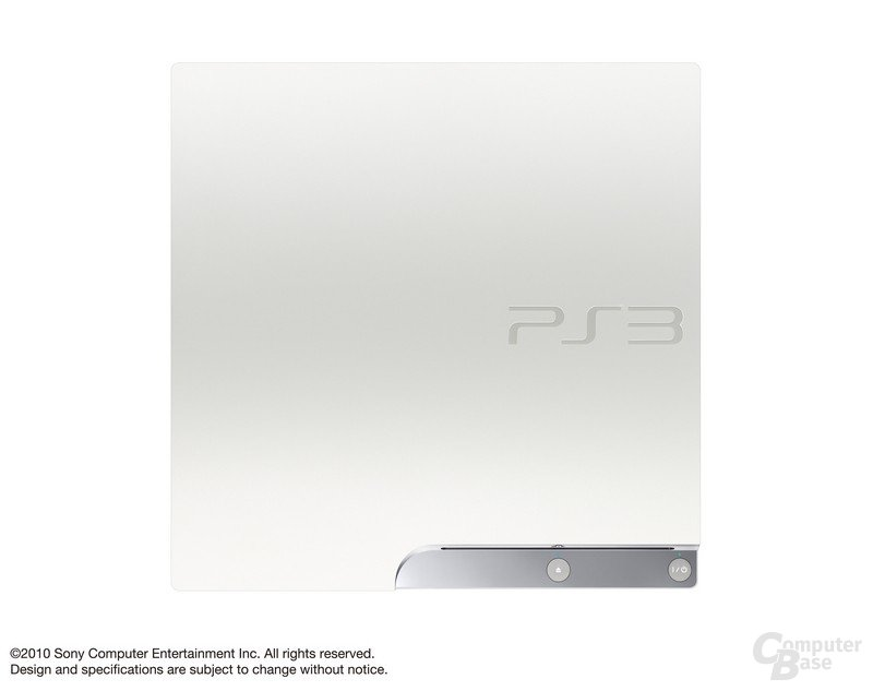 PlayStation 3 slim in weiß