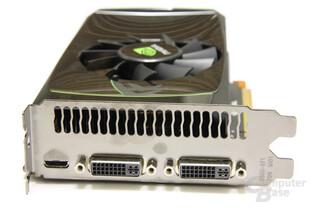 GeForce GTX 460 Slotblech