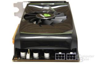 GeForce GTX 460 Stromanschlüsse