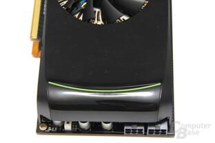 GeForce GTX 460 von hinten