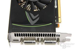 GeForce GTX 460 von oben