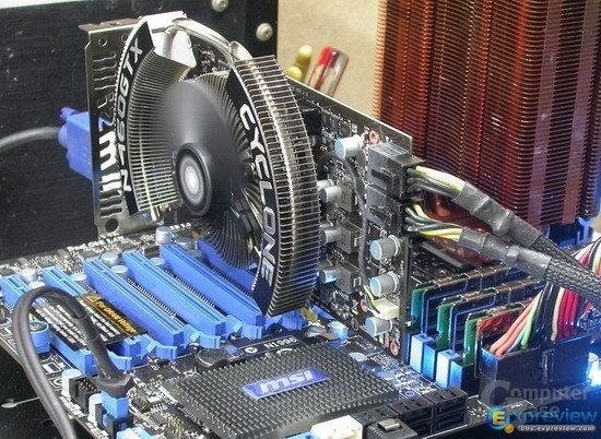 MSI GeForce GTX 460 mit Cyclone-Kühler