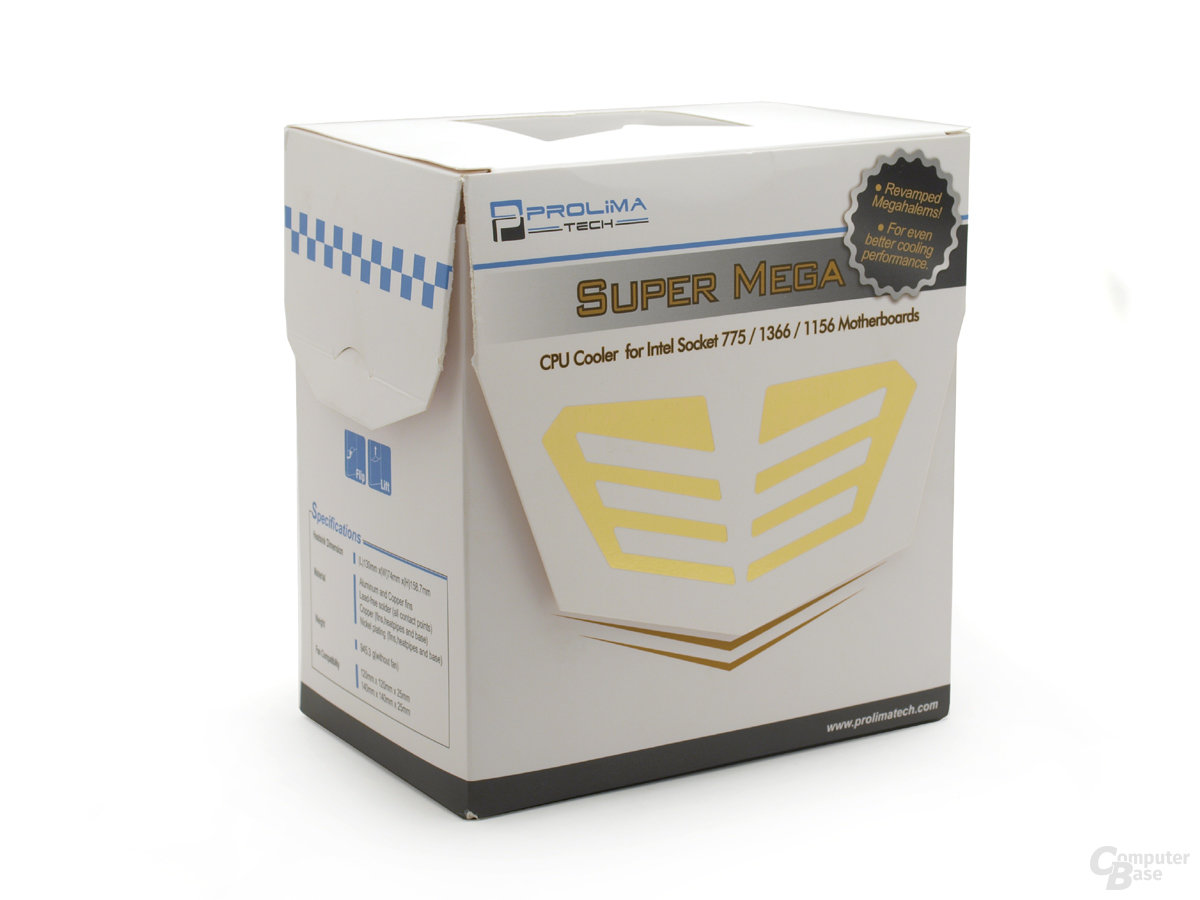 Prolimatech Super Mega Verpackung