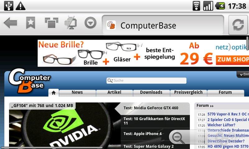 Skyfire-Browser Beta 2.2