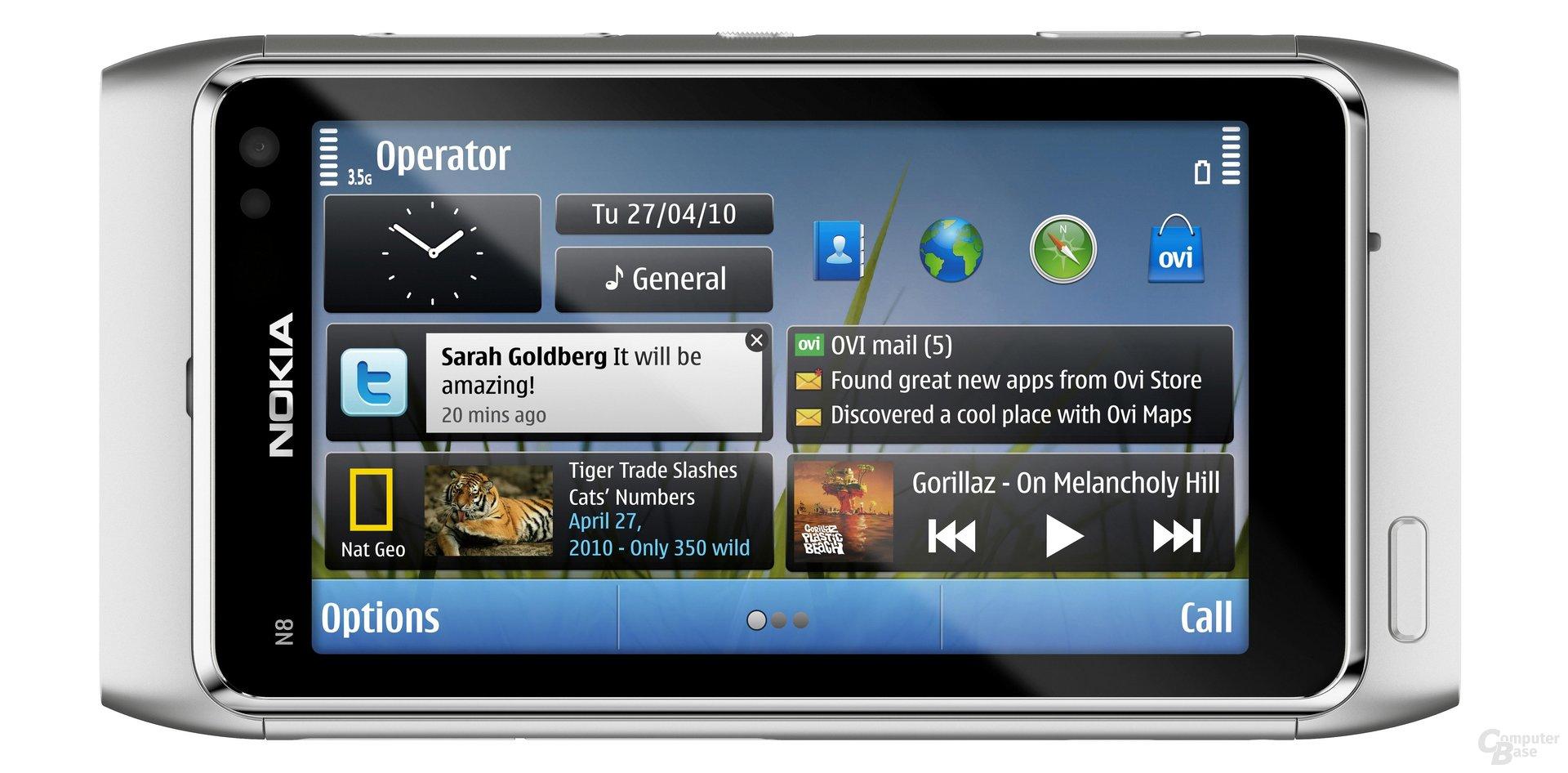 Nokia N8: Auch Symbian^3 ist kein Quantensprung