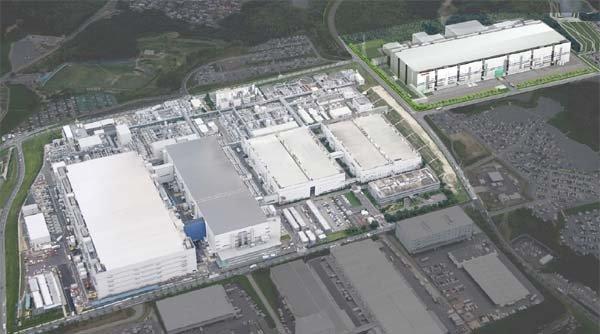 """""""Fab 5"""" (rechts hinten) im bestehenden Industriepark"""