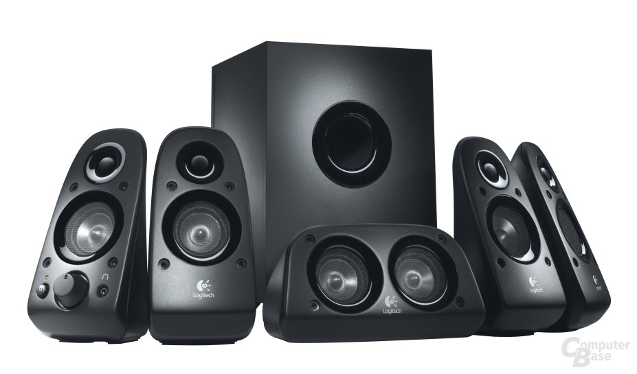 Logitech Surround Sound Speaker System Z506