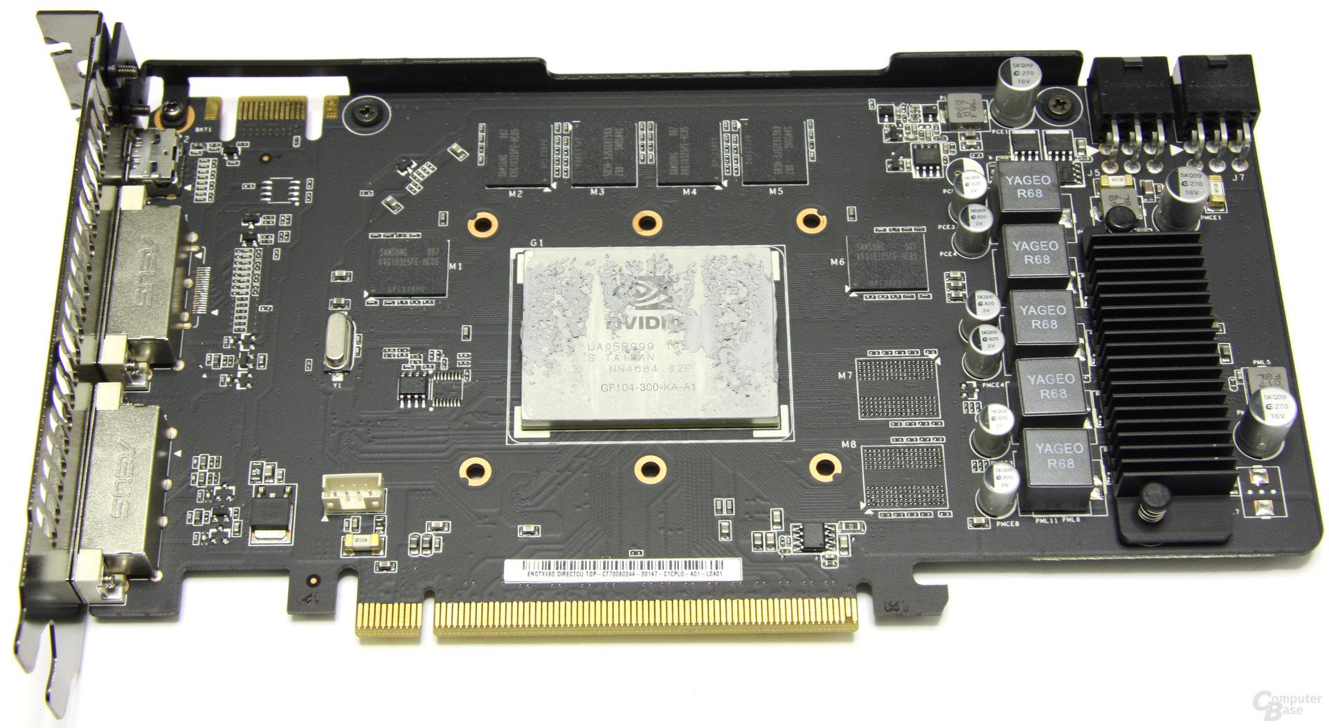 GeForce GTX 460 TOP ohne Kühler